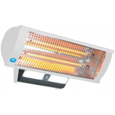 How To Light Your Wall Heater : MGD Online - 2.3 kW Wall Mounted Patio Heater with Light & Remote Control - EH1462