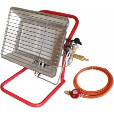 Adjustable Portable Gas Site Heater