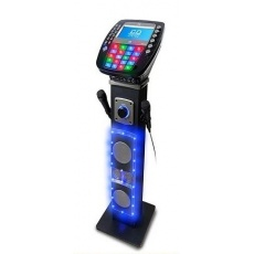 Bluetooth Karaoke System with Light Effects