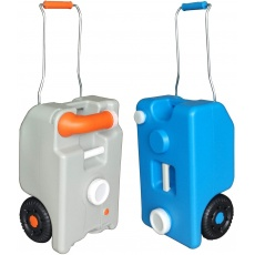 Caravan Fresh & Waste Water Tank Carriers