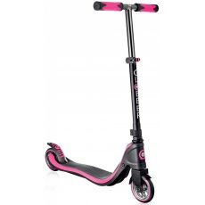 Globber Flow 125 Neon Titanium Scooter Pink