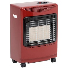 Red Mini Butane Portable Gas Heater