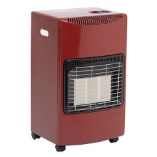 Seasons Warmth Red Portable Gas Heater