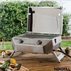 Stainless Steel Portable Gas BBQ