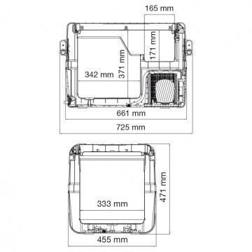 Dometic CoolFreeze CFX 50W Portable Freezer